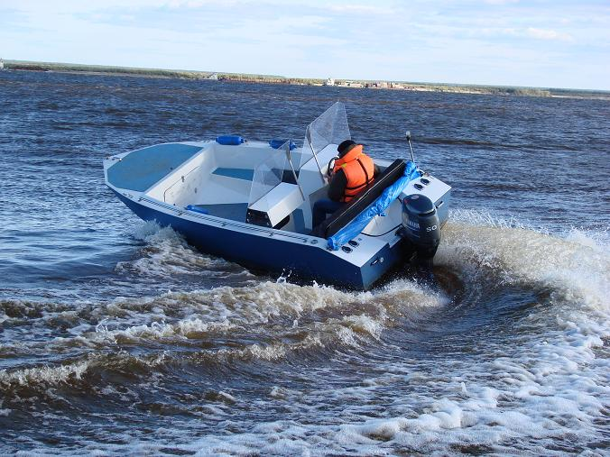 использование лодки в нерест