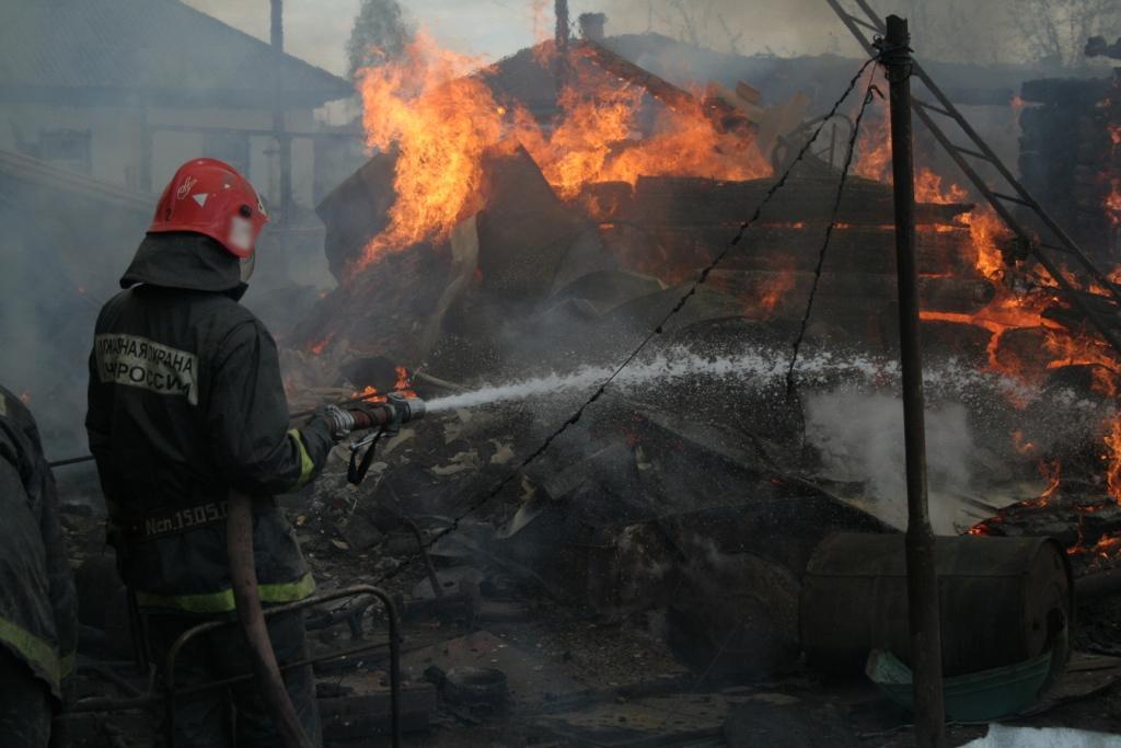 Пожар в СО Дейма