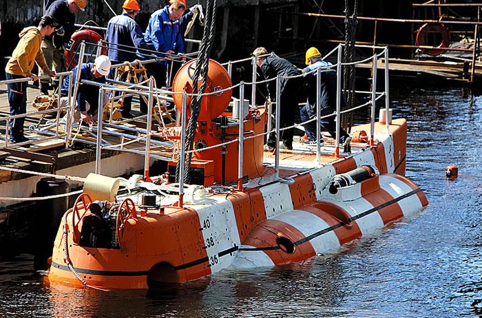 спасательное судно подводных лодок