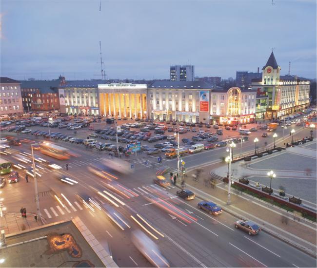 День города: схема движения
