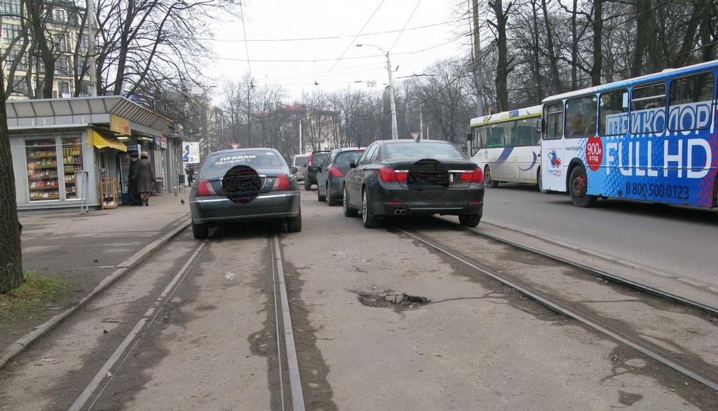 дороги в Калининграде