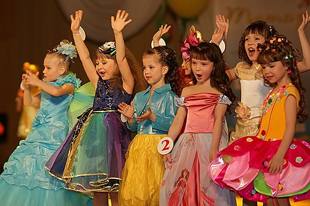 Приветствие для конкурса красоты детского