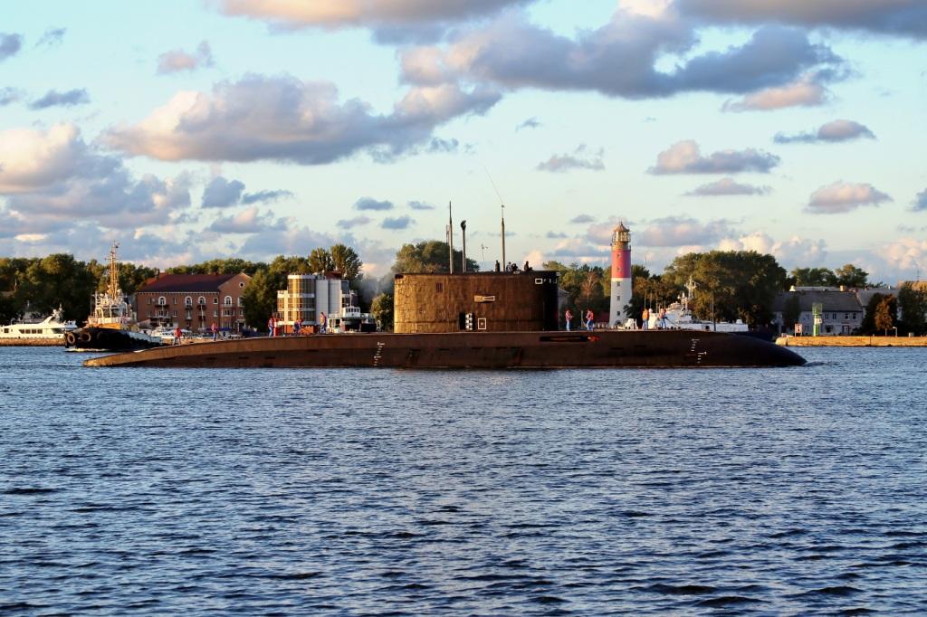 экипажи подводных лодок балтийского флота