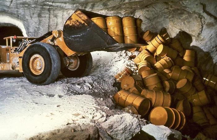 Проект складирования галитовых отходов