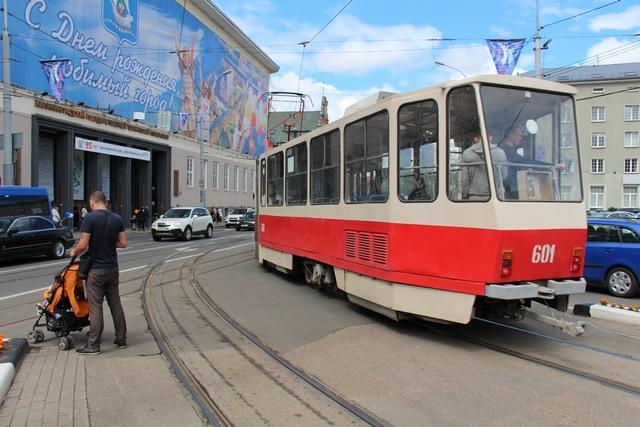 Трамвай скоро на