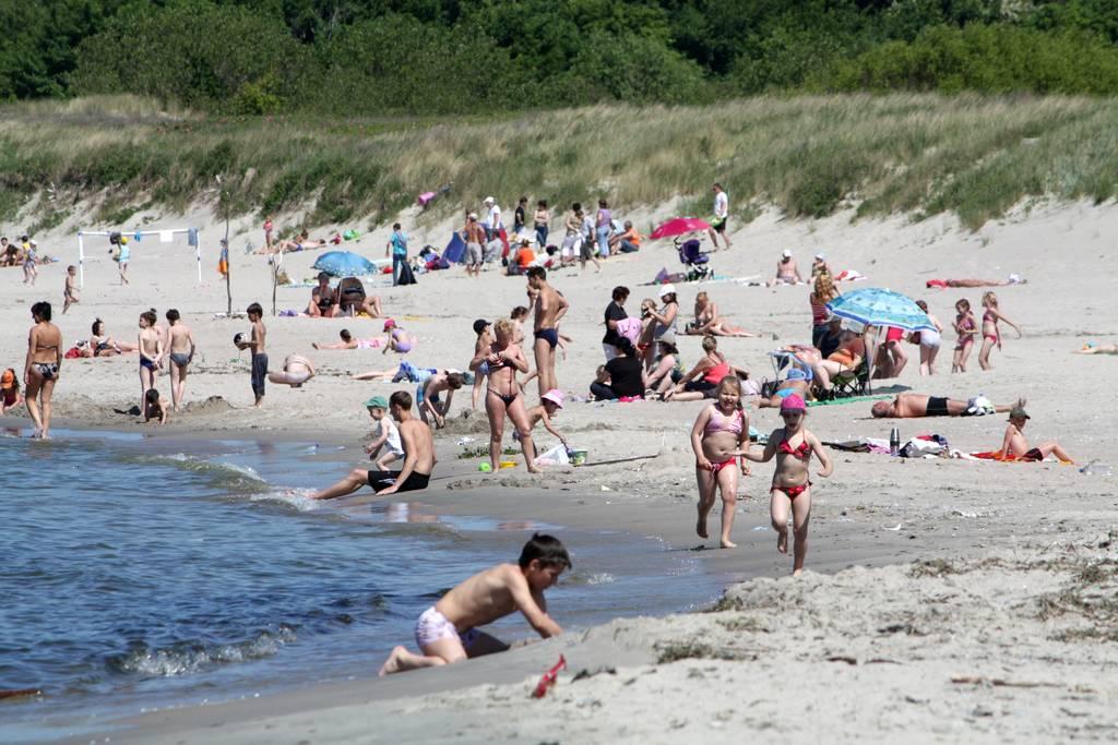 балтийск пляж фото