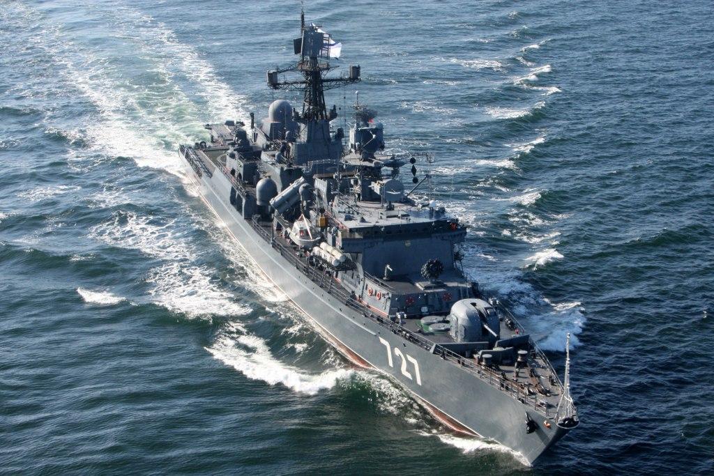 Эсминец ВМС США допустил опасное сближение с боевым кораблем «Ярослав Мудрый»