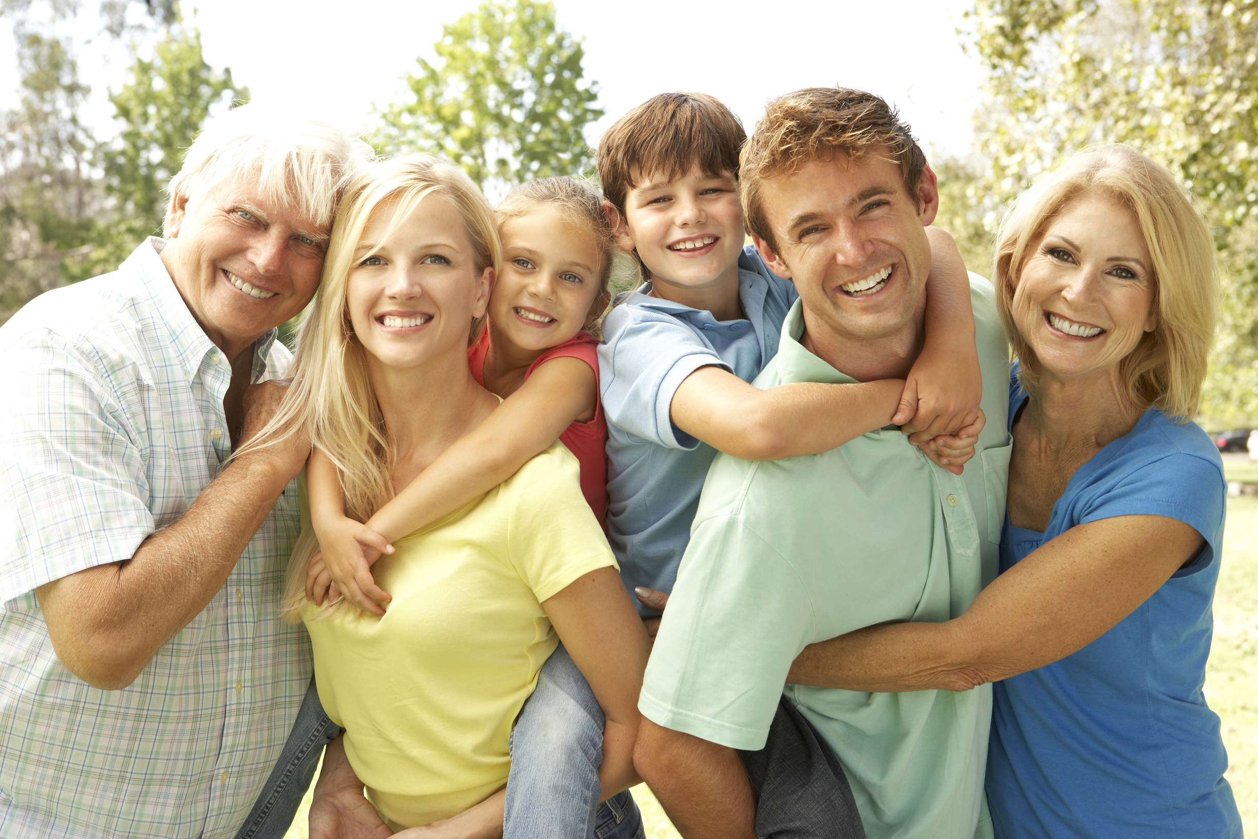 Семейное личное фото с детьми