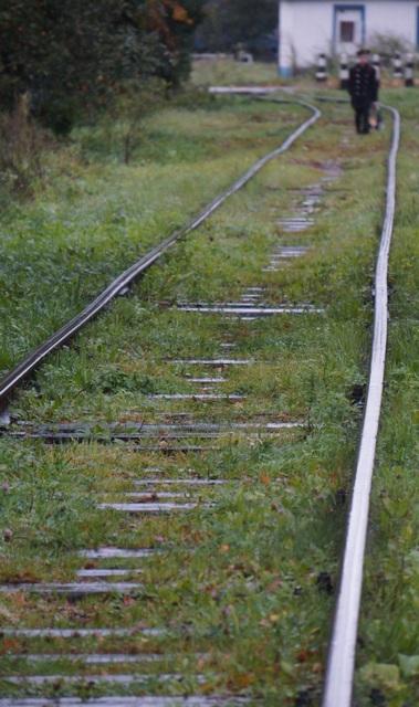 Жители 4й Большой окружной ходят по железной дороге из- за отстутствия тротуара.jpg
