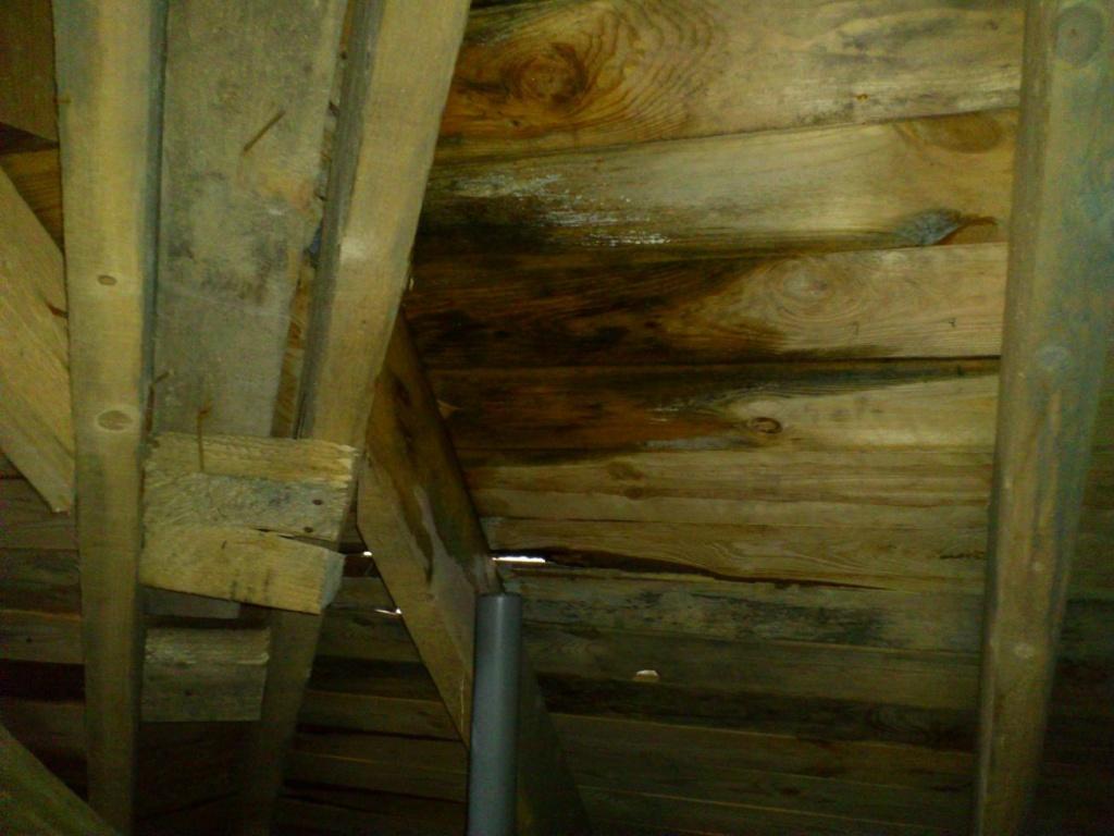 Как заменить сгнившую стропилу крыше