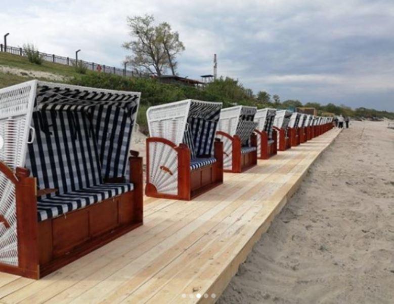 Алиханов показал новый пляж в Зеленоградске