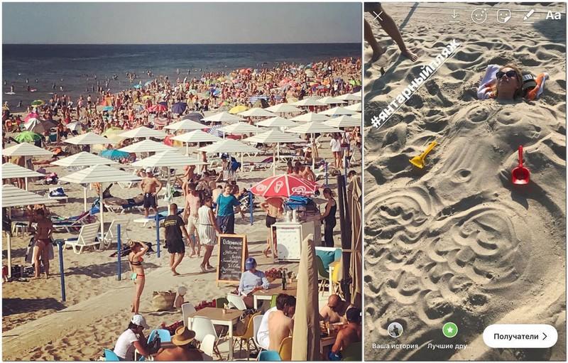 Сити-менеджер Янтарного показал как женщин превращают в русалок (фото)
