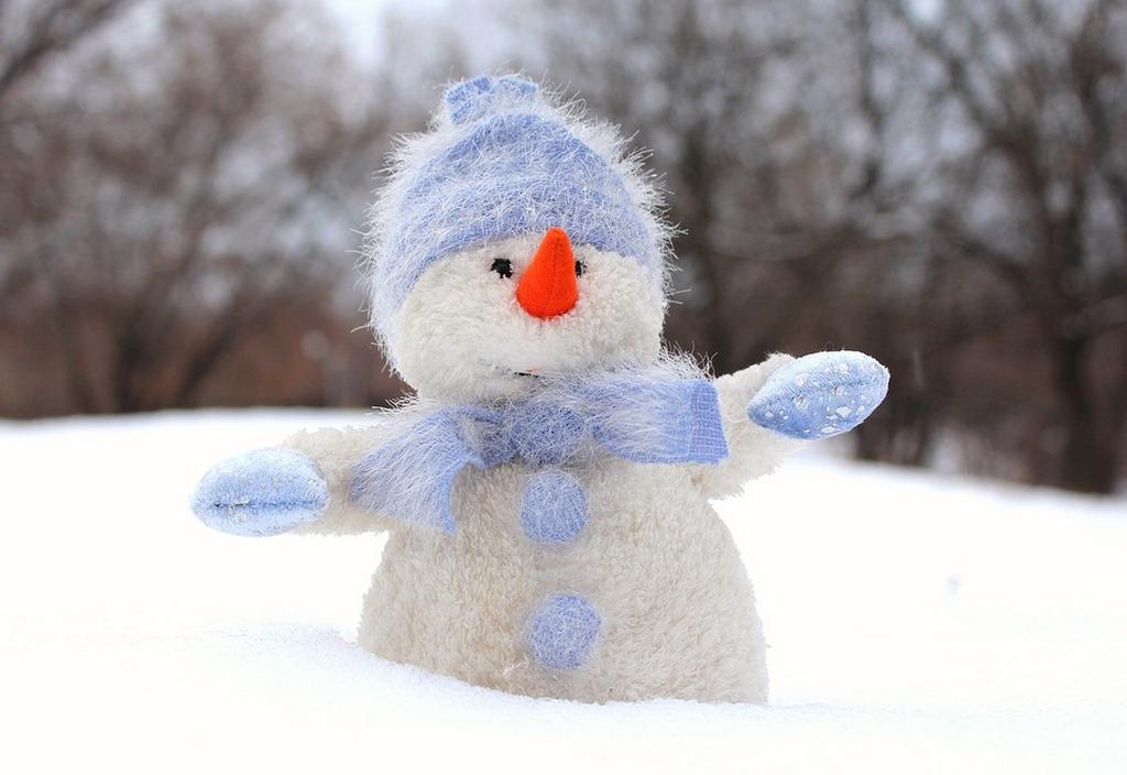 В Балтийске нашествие снеговиков (фото)