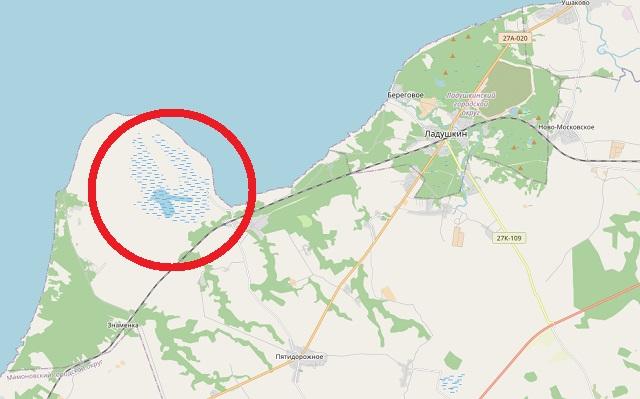 Озеро у Валетников на карте региона.jpg